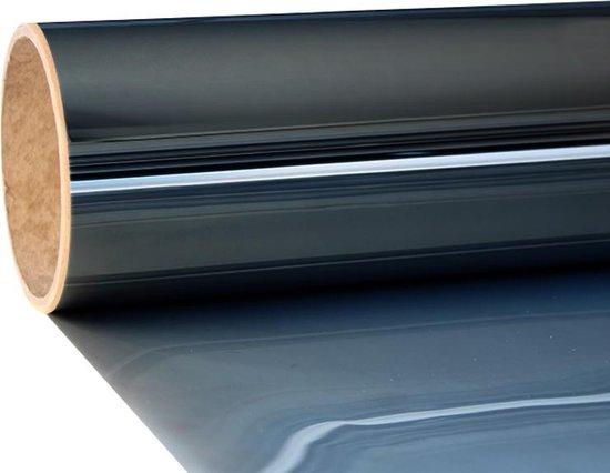 Zonwerende Raamfolie - Zelfklevend - 300x75 cm - Zwart