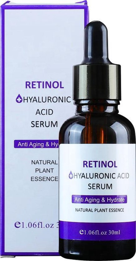Retinol serum - Hyaluronzuur Serum - Hyaluronic Acid Serum - Gezichtscreme - Anti Aging - Anti Rimpel - Wallen – Acne – Droge Huid Olie – Gevoelige Huid – Huidverzorging Tijdens Of Na Microneedling