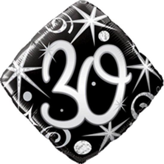 Folieballon 30 vierkant