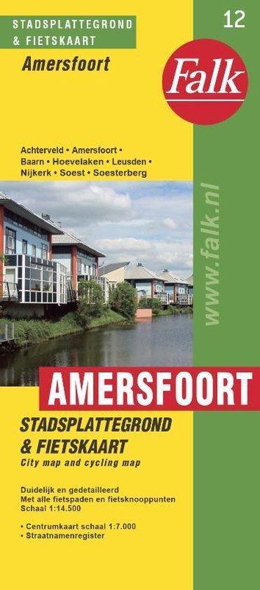 Amersfoort plattegrond - Falk |