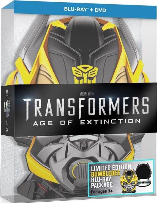 Transformers 4: Age Of Extinction (2D+3D Blu-ray+ Bonus) (Bumblebee Head)