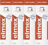 Elmex Anti Caries Tandpasta 4 x 75ml