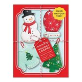 Holiday Cookies Shaped Notecard Portfolio