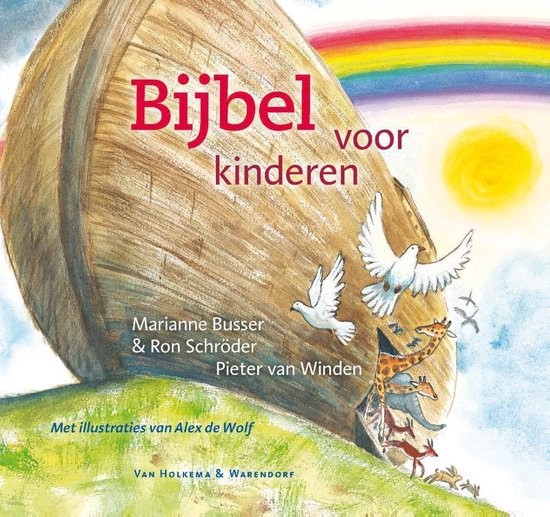 Cover van het boek 'Bijbel voor kinderen'