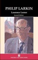 Boek cover Philip Larkin van Laurence Lerner