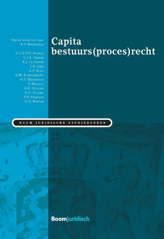 Boom Juridische studieboeken - Capita bestuurs(proces)recht - none  