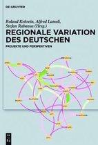Regionale Variation Des Deutschen