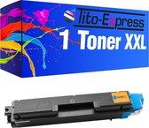 PlatinumSerie® XXL cyaan alternatief voor Kyocera Mita toner TK-580-4.000 pagina 's