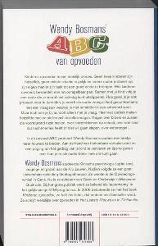 Wendy Bosmans' Abc Van Opvoeden - Wendy Bosmans | Readingchampions.org.uk