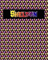 120 Page Handwriting Practice Book with Colorful Alien Cover Sheldon