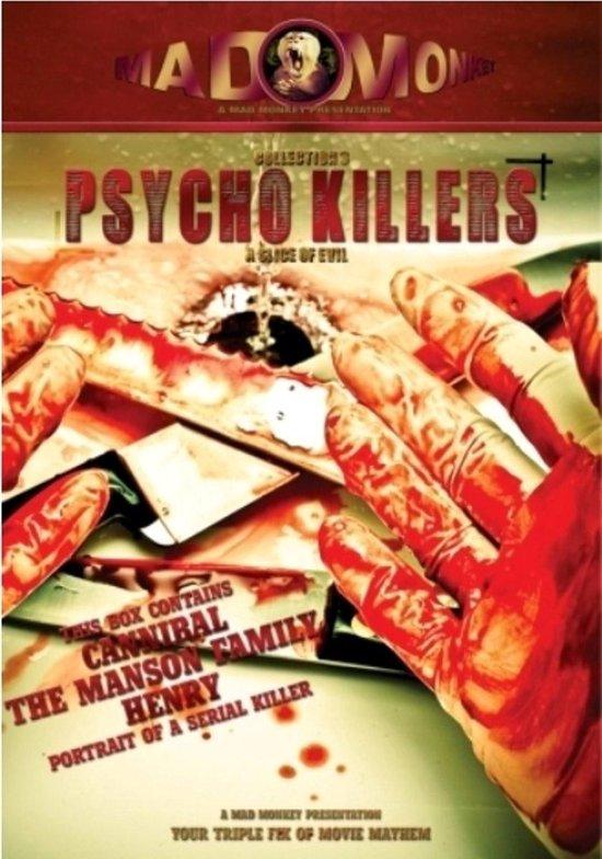 Cover van de film 'Psycho Killers - Volume 1'