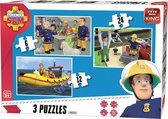 Fireman Sam 3in1 Puzzle