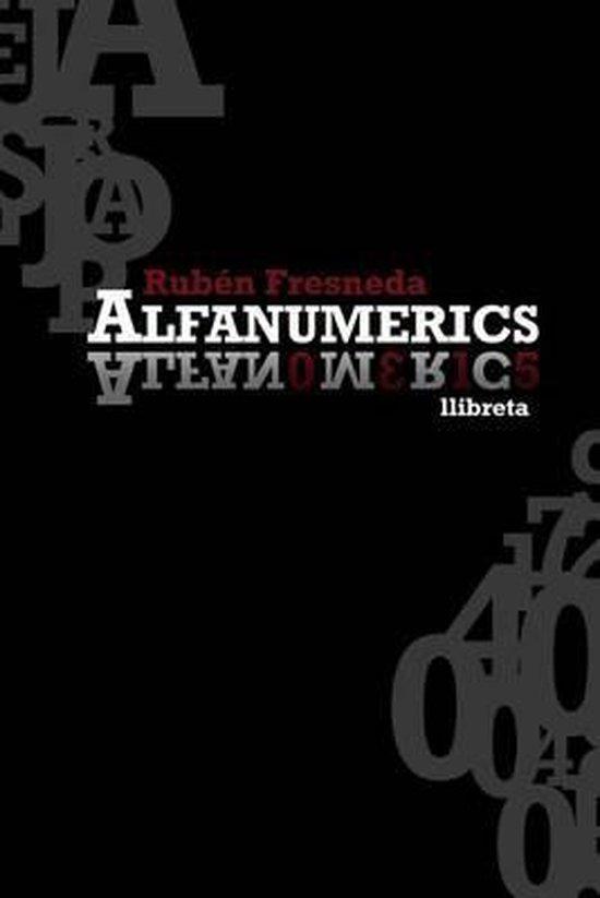 Alfanumerics. Llibreta