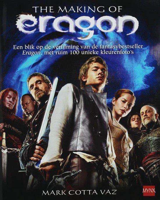 Cover van het boek 'De making of Eragon' van Mark Cotta Vaz