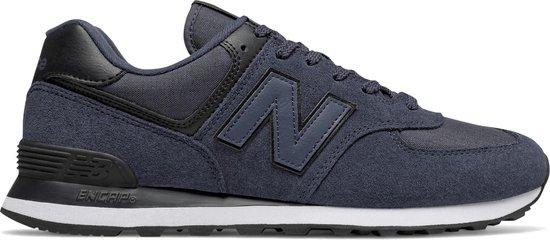 New Balance 574 Sneakers - Maat 45.5 - Mannen - donker blauw/zwart