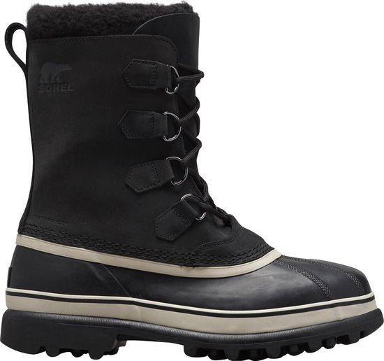 Sorel Caribou Heren Snowboots - Black. Dark Sto - Maat 42