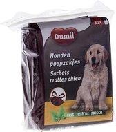 Hondenpoep zakjes | Poepzakjes | 30 Stuks | Geparfumeerd met handvatten | Makkelijk sluiten | 27x38CM