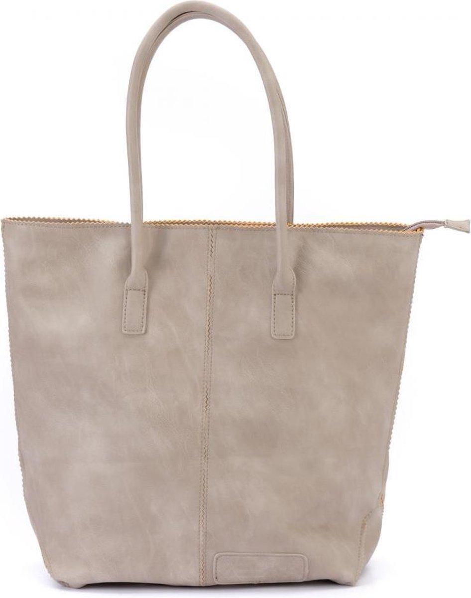 Zebra Trends Natural Bag Kartel - met Rits - Grey - Zebra trends