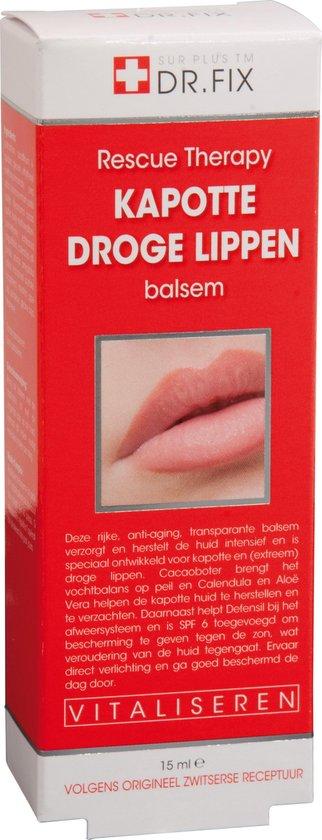 Dr. Fix Kapotte Droge Lippen Balsem