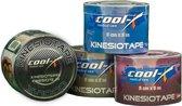 Cool-X Kinesiotape - Zwart