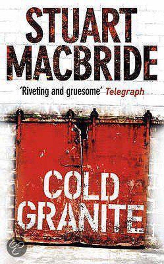 Boek cover Cold Granite van Stuart MacBride (Paperback)