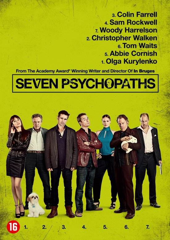 Cover van de film 'Seven Psychopaths'