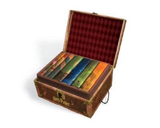 Boek cover Harry Potter Hardcover Boxed Set van J.K. Rowling (Onbekend)