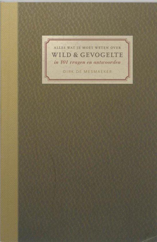 Cover van het boek '101 tips voor wild & amp / Gevogelte' van D. de Mesmaeker