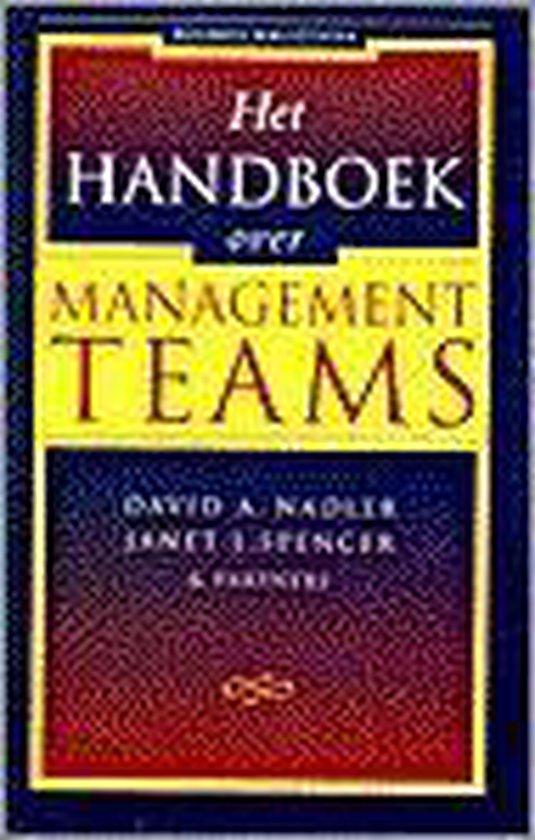 Het handboek over managementteams - David A. Nadler  