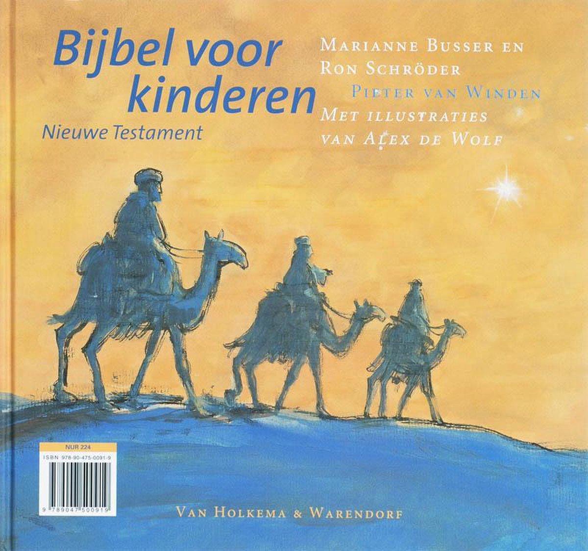 Onwijs bol.com | Bijbel Voor Kinderen Oude Testament & Nieuwe Testament ZC-02