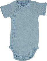 Lodger Rompertje Baby - Romper Ciumbelle - Blauw - Korte mouw - 74