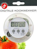 Digitale Ronde LCD Eierwekker - Kookwekker - eier - kook - wekker - timer