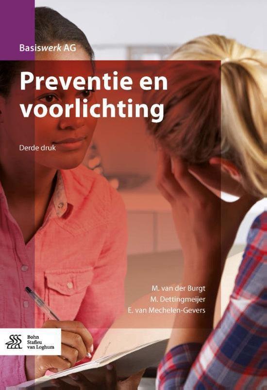 Basiswerk AG - Preventie en voorlichting - M. van der Burgt |