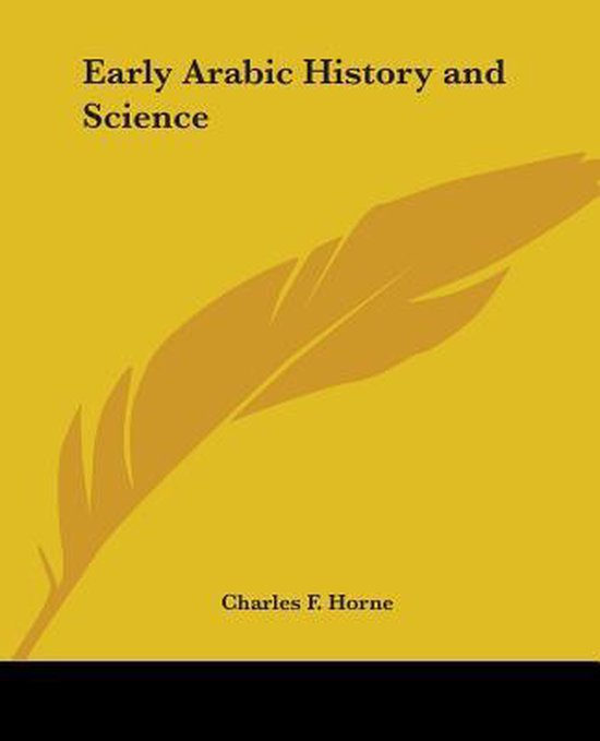Early Arabic History and Science