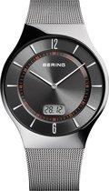 BERING 51640-077 - Horloge - RVS - Grijs - Ø 40 mm