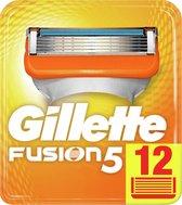 Gillette Fusion 5 Scheermesjes Mannen - 12 Stuks