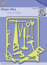 SDL040 Snijmal Nellie Snellen  - Lene Design - Men Things - Klusjesman - kader gereedschap mannen