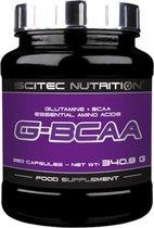 Scitec Nutrtion - G-Bcaa - Glutamine + BCAA Essential Amino Acids - 250 caps - 83 porties