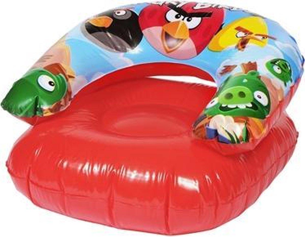 Opblaasbaar zwembad speelgoed | Luchtbedden | Opblaas loungestoel Angry Birds | 76x76cm