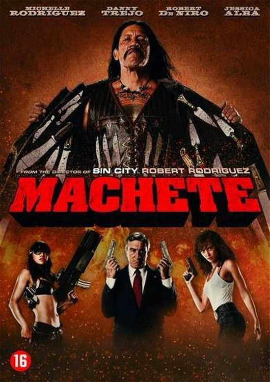 Cover van de film 'Machete'