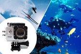 Sport HD 1080P Action Camera – Zilver – Inclusief Waterdichte Behuizing – Voor foto's en video's
