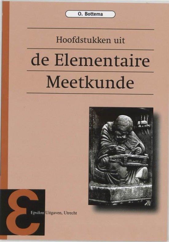 Epsilon uitgaven 9 - Hoofdstukken uit de elementaire meetkunde - O. Bottema |