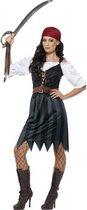 Voordelig piraten kostuum voor dames 44-46 (L)