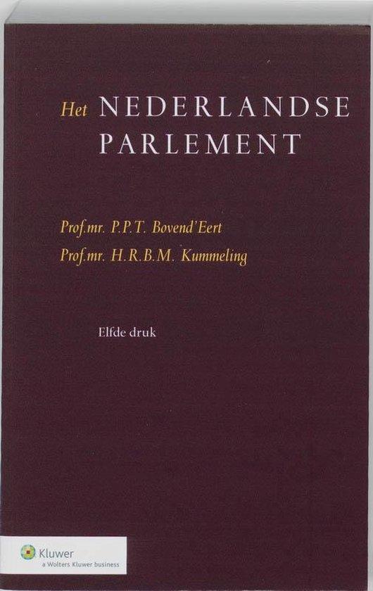 Het Nederlandse parlement - P.P.T. Bovend'Eert |