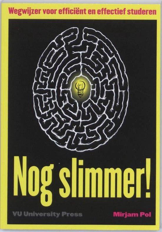 Boek cover Nog Slimmer van Mirjam Pol (Paperback)