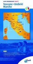 ANWB wegenkaart - ANWB wegenkaart Italië 7. Toscane,Umbrië,Marche
