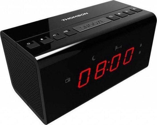 CR50 - Wekkerradio - Zwart