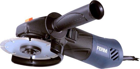 FERM AGM1087 Haakse Slijper - 850W - incl. softgrip en verstelbare zijhandgreep