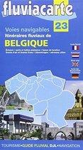 Fluviacarte 23 Belgique - Itinéraires fl