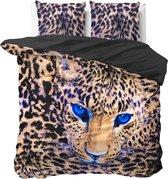 Dreamhouse Cheetah - Dekbedovertrekset - Lits-Jumeaux - 240x200/220 + 2 kussenslopen 60x70 - Taupe